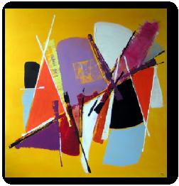 tableau pas cher artiste peintre contemporain